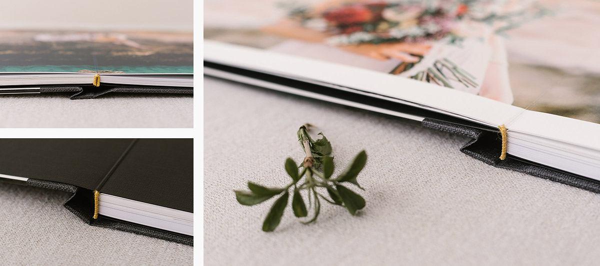 Modernes Hochzeitsbuch - vintage boho shabby chic
