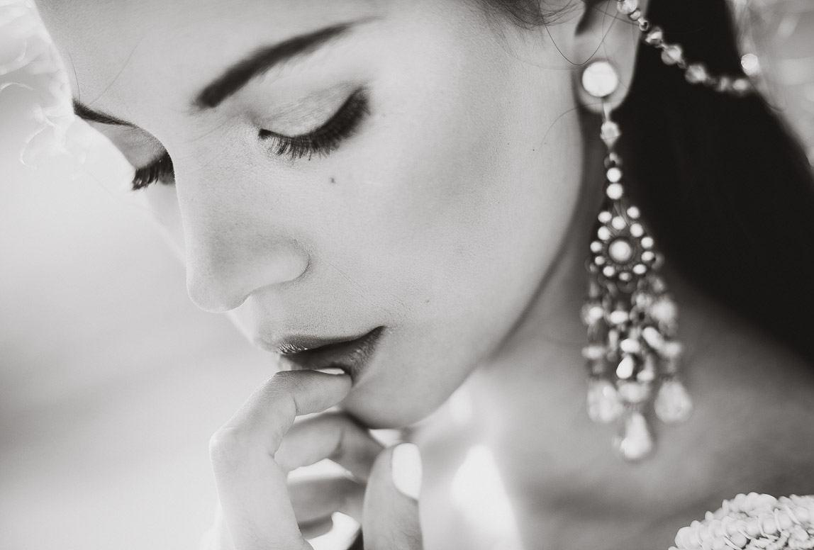 Mallorca Hochzeitsportraits: Braut in SW