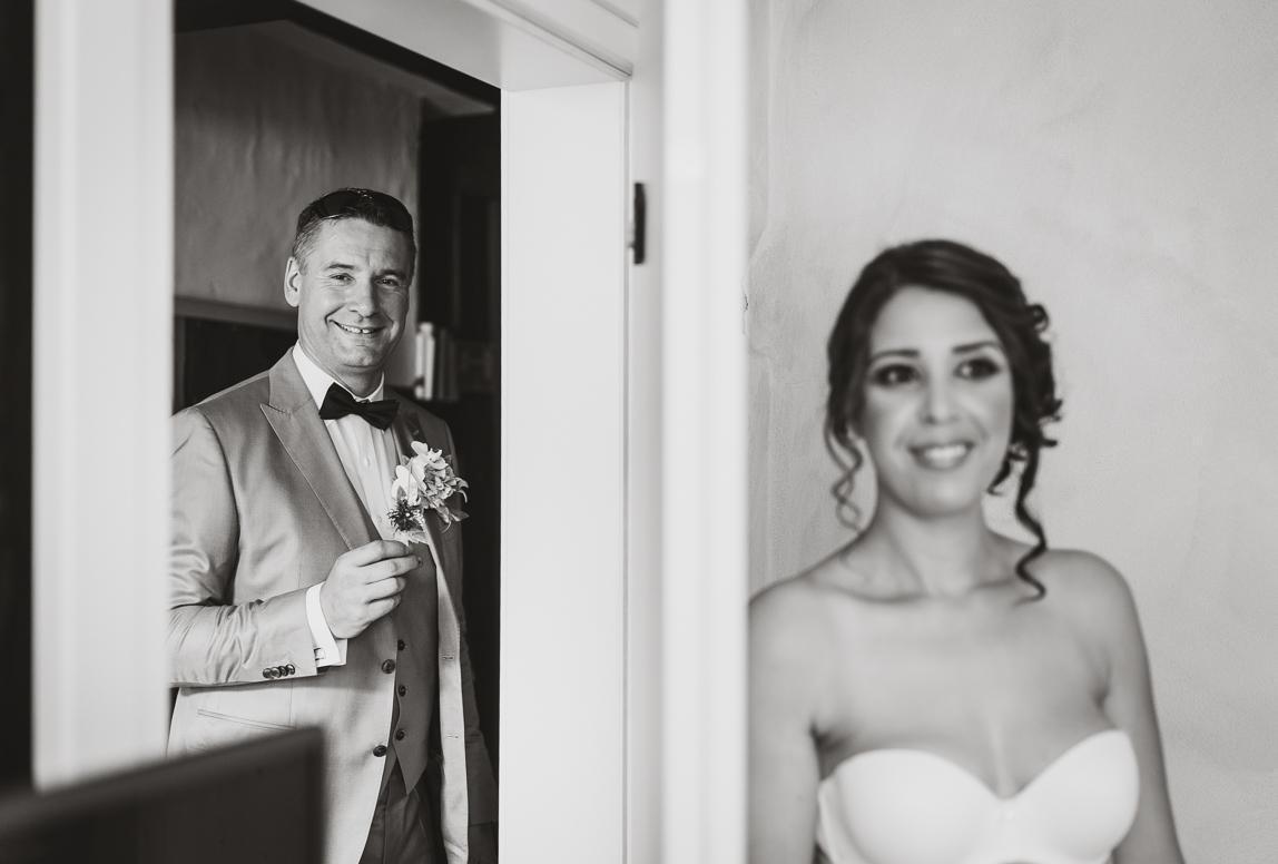 Mallorca Fotos zur Hochzeit: Braut und Bräutigam vor der Hochzeit