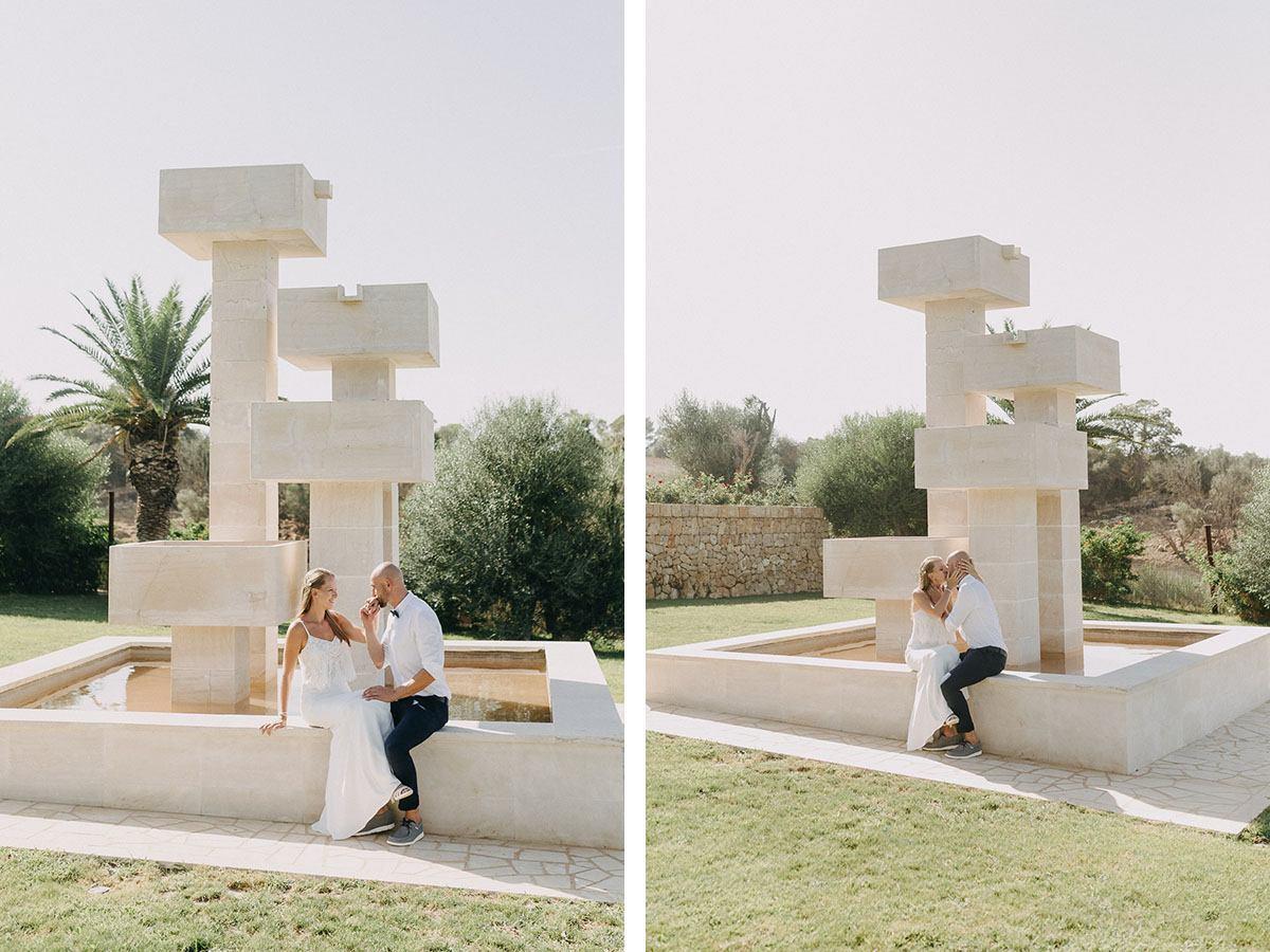 Mallorca Finca zum Heiraten - Hochzeitsportraits bei Petrag