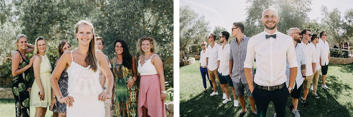 Mallorca Hochzeitsfinca Son Burges - Gästefotos