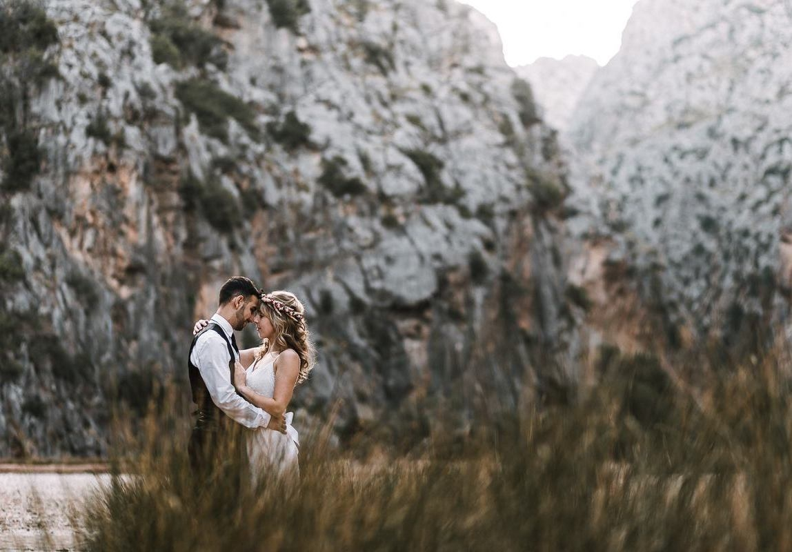Fotograf auf Mallorca: Brautpaar beim After Wedding Shooting