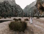 Mallorca after wedding Shooting im Torrent de pareis